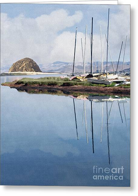 Beautiful Bay Greeting Card by Sharon Foster