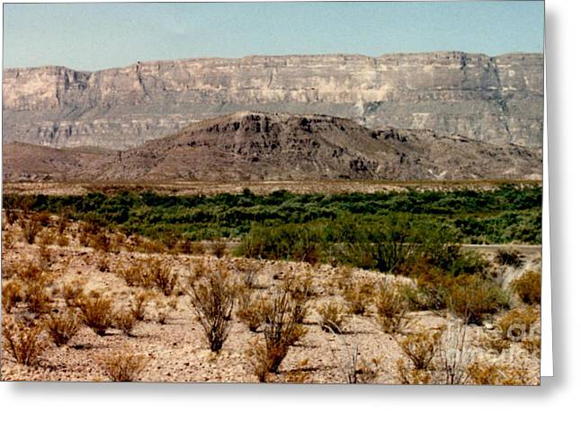 Print Photographs Greeting Cards - Beautiful Big Bend National Park  Greeting Card by Ruth  Housley