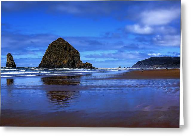 Lanscape Greeting Cards - Beautiful Cannon Beach Greeting Card by David Patterson