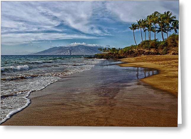 Swimmers Greeting Cards - Beautiful Hawaii Greeting Card by Dan Orchard