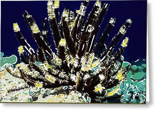 Beautiful marine plants 10 Greeting Card by Lanjee Chee