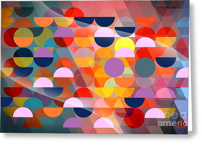 Surreal Geometric Greeting Cards - Beautiful Greeting Card by Mark Ashkenazi