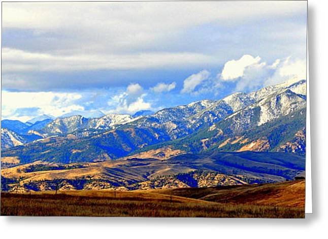 Lynn Bawden Greeting Cards - Beautiful Montana Greeting Card by Lynn Bawden