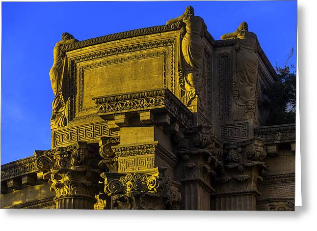 Beautiful Palace Of Fine Arts Greeting Card by Garry Gay