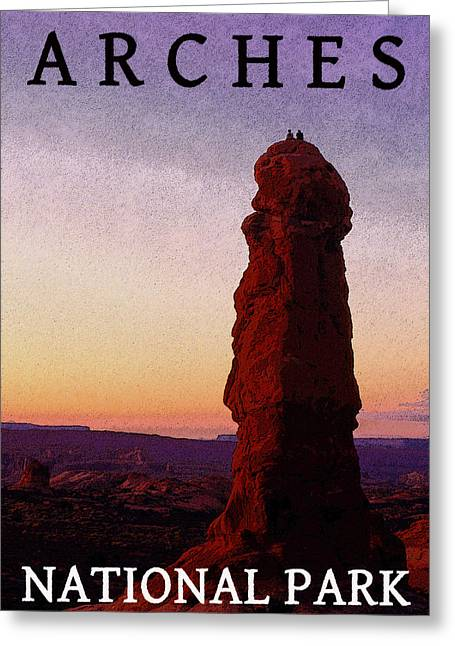 Monolith Greeting Cards - Beautiful Sunset Greeting Card by David Lee Thompson