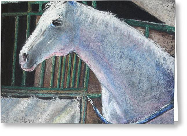 Beauty Greeting Card by Arline Wagner