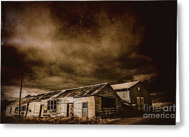 Beauty In Rustic Decay Greeting Card by Jorgo Photography - Wall Art Gallery