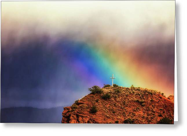 Summer Storm Greeting Cards - Beauty in the Storm Greeting Card by Rick Furmanek