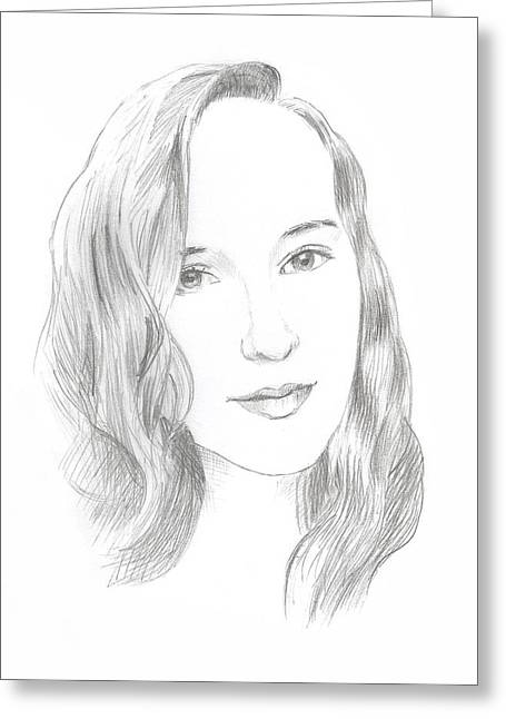 Beauty Greeting Card by Masha Batkova