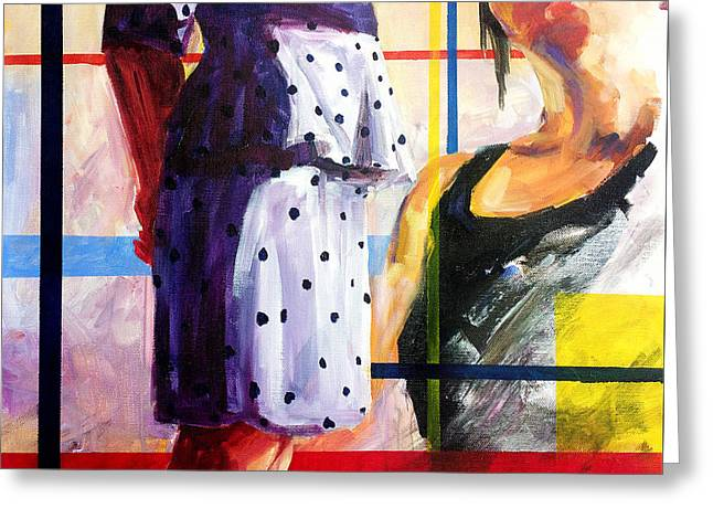 Female Body Greeting Cards - Beauty of colors and summer sunshine Greeting Card by Zlatko Music
