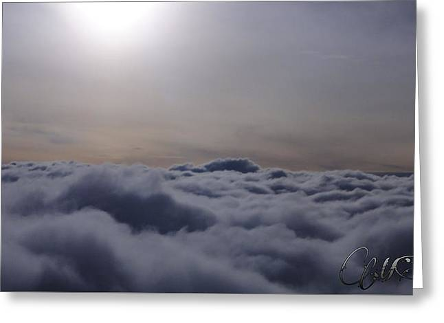 Gloaming Greeting Cards - Beauty of heaven Greeting Card by Marie  Stoffova