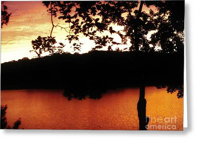 Beauty To Behold Sunset Greeting Card by Marsha Heiken