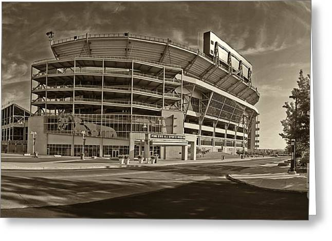 Beaver Stadium Greeting Card by Jack Paolini