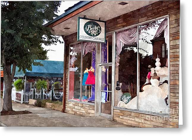 Rockbridge County Greeting Cards - Beckys Greeting Card by Kathy Jennings