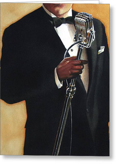 Tuxedo Greeting Cards - Becoming a Legend Greeting Card by Denny Bond