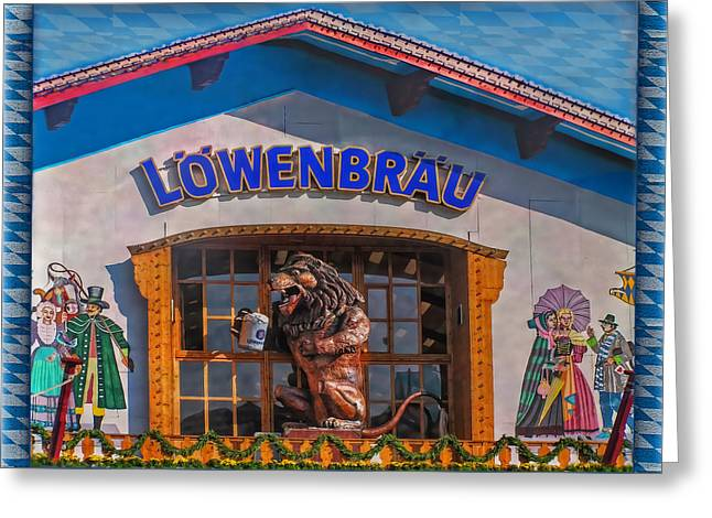 Deutschland Greeting Cards - Beer Lyon Greeting Card by Hanny Heim