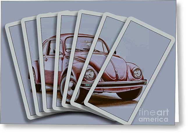 Chris Evans Greeting Cards - Beetle Deck  Greeting Card by Chris Evans