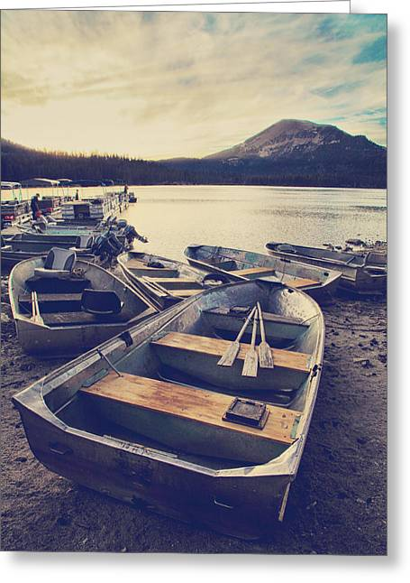 Before Another Day Disappears Greeting Card by Laurie Search