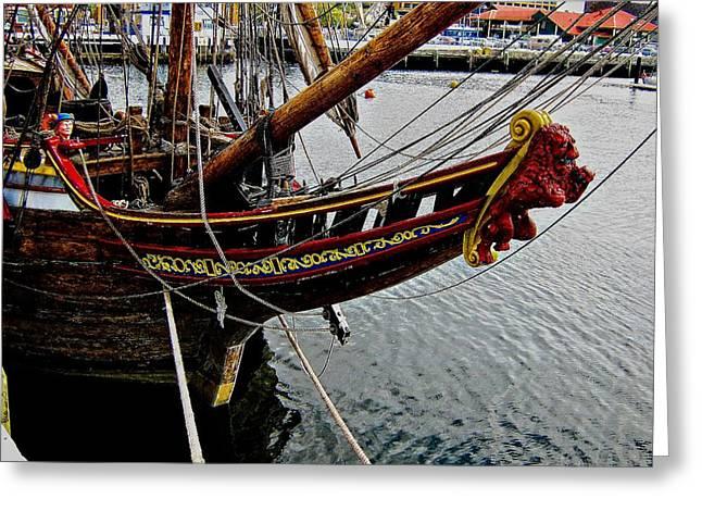 Before Setting Sail Greeting Card by Douglas Barnard