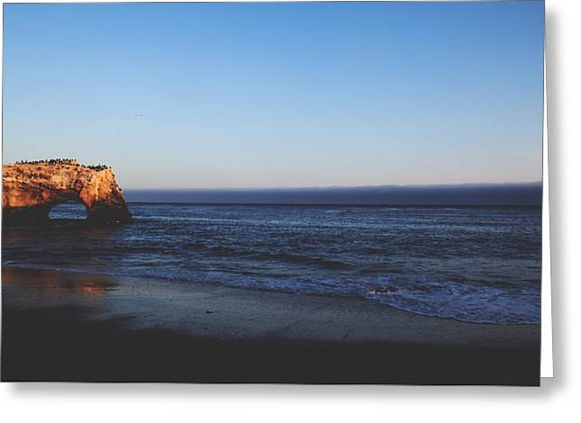 California Beach Greeting Cards - Before The Day is Done Greeting Card by Laurie Search