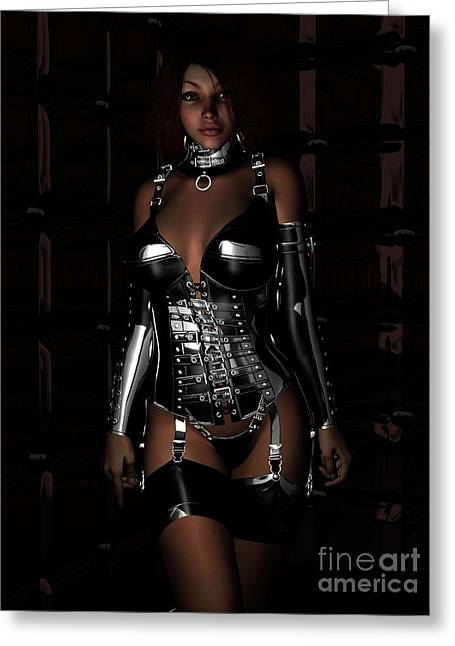 Latex Greeting Cards - Beg for Mercy Greeting Card by Alexander Butler