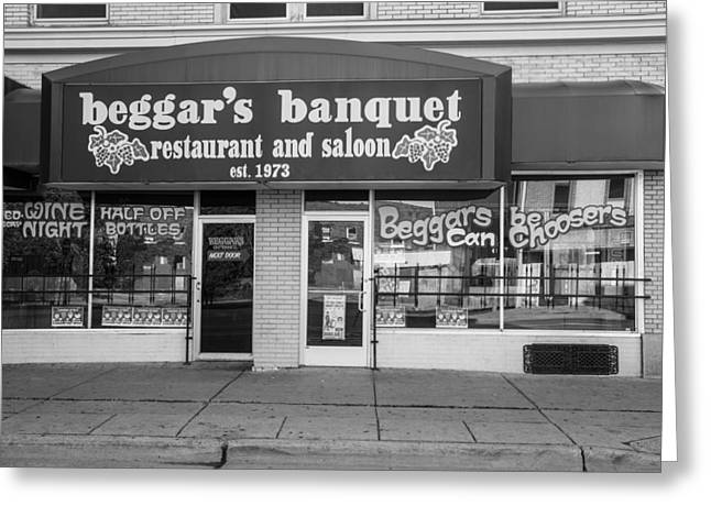 Banquet Greeting Cards - Beggars Banquet Greeting Card by John McGraw
