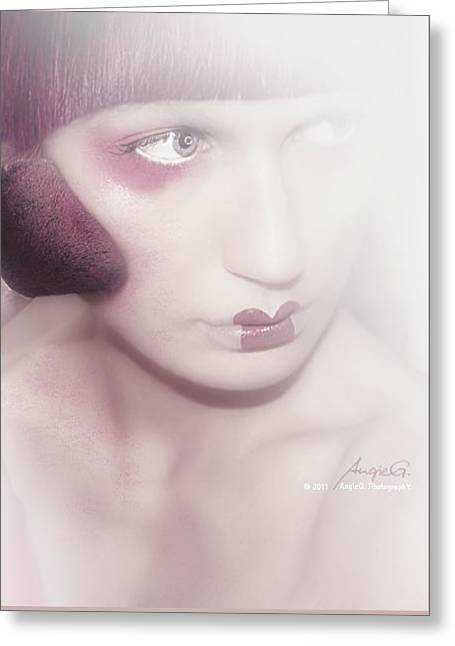 Photomanip Greeting Cards - Behind the Scenes Greeting Card by AngieG PhotographY