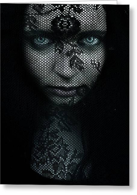 Black Magic Greeting Cards - Behind Greeting Card by Wojciech Zwolinski