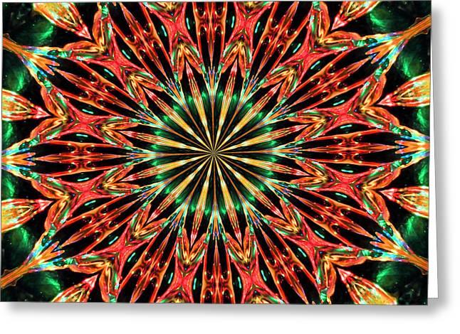 Jewels Digital Greeting Cards - Bejewelled Greeting Card by Kristin Elmquist