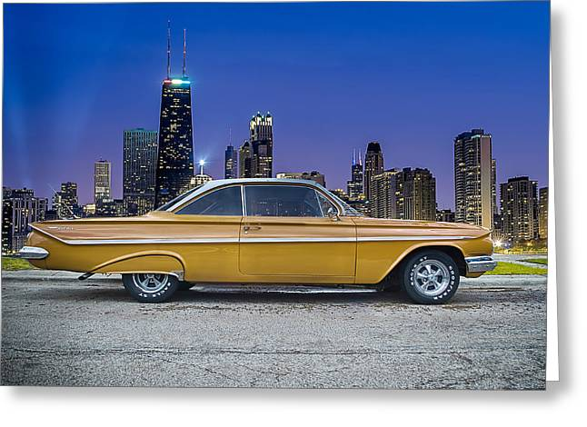 Bel Air In Chicago Greeting Card by Darek Szupina Photographer