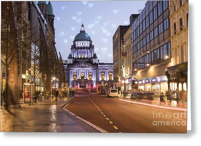 Belfast Greeting Card by Juli Scalzi