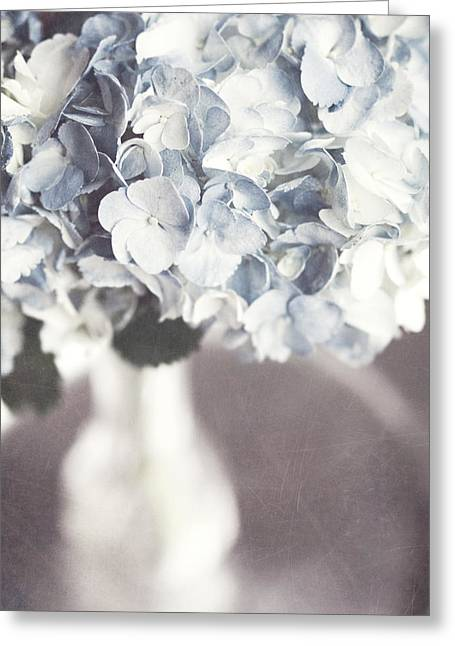 Best Sellers -  - Glass Vase Greeting Cards - Bella Donna Greeting Card by Lisa Russo