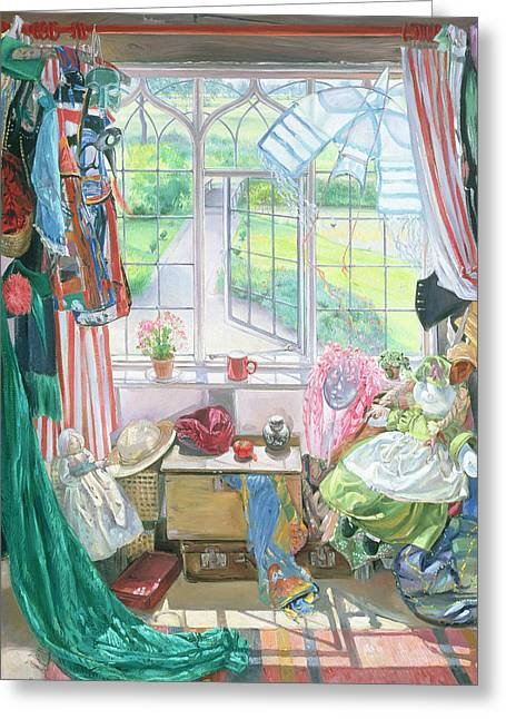 Interior Still Life Photographs Greeting Cards - Bellas Room Greeting Card by Timothy Easton