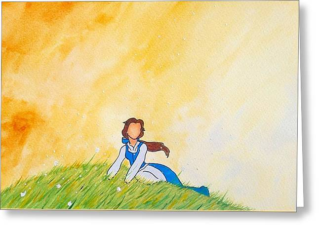 Belles Drawings Greeting Cards - Belle Greeting Card by Mark Hamilton