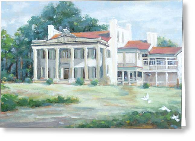 Belle Meade Plantation Greeting Card by Sandra Harris