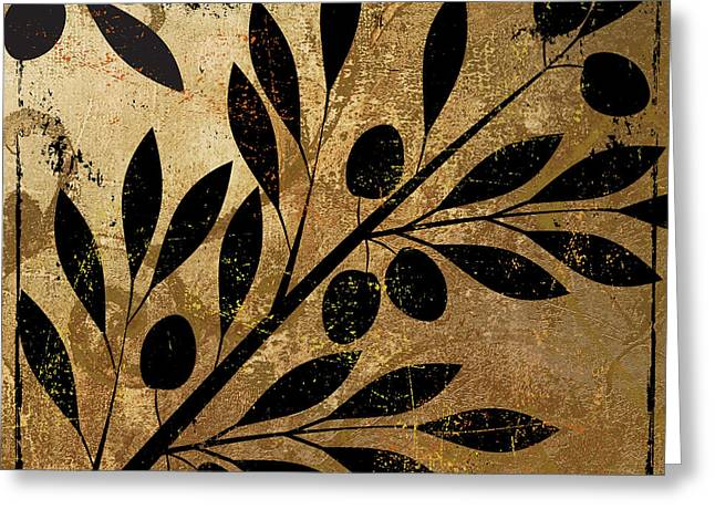 Olive Branch Greeting Cards - Bellissima II Greeting Card by Mindy Sommers
