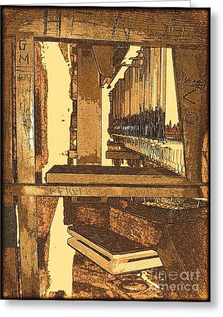 Saint Joseph Digital Greeting Cards - Bellows a Melody Greeting Card by Richard W Burdett