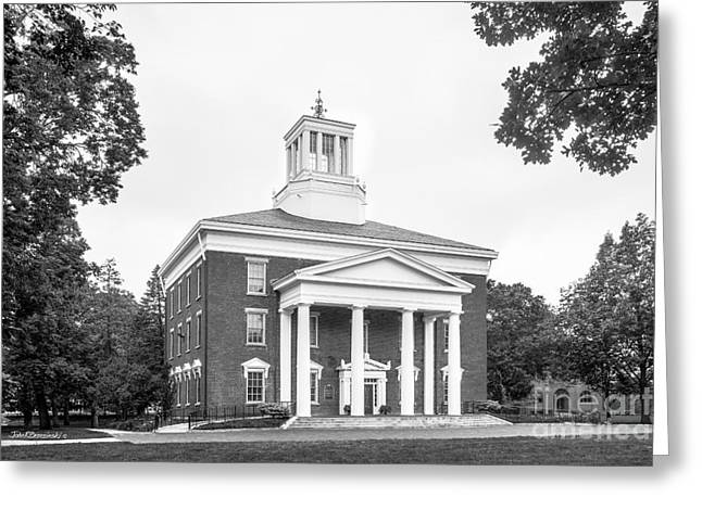 Beloit College Middle College  Greeting Card by University Icons
