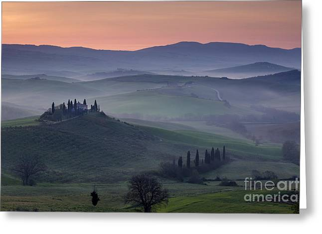 Belvedere Dawn Greeting Card by Brian Jannsen