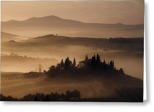 Belvedere Greeting Card by Luca Benini