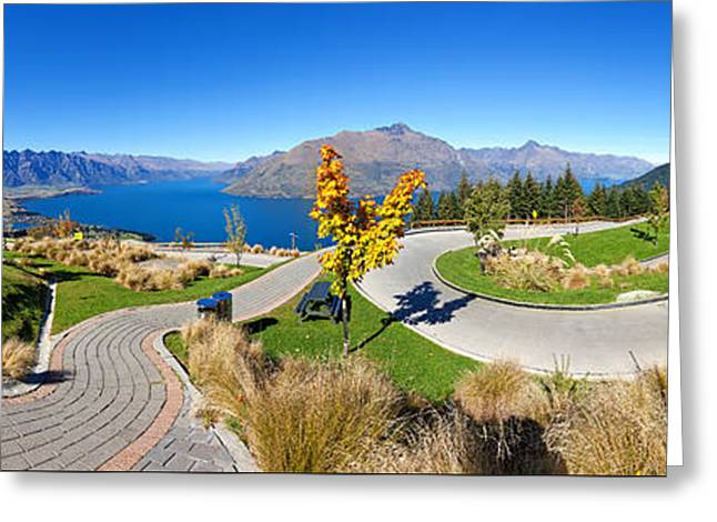 Snow Capped Mountains Greeting Cards - Ben Lomond Scenic Reserve New Zealand Greeting Card by Bill  Robinson