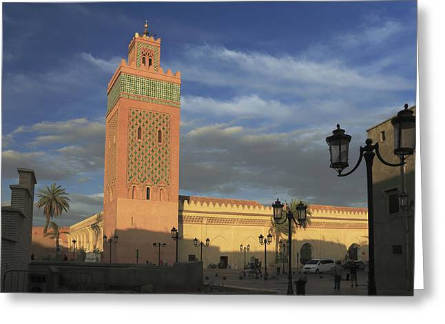African Heritage Greeting Cards - Ben Youssef Mosque Marrakesh Morocco Greeting Card by Ivan Pendjakov