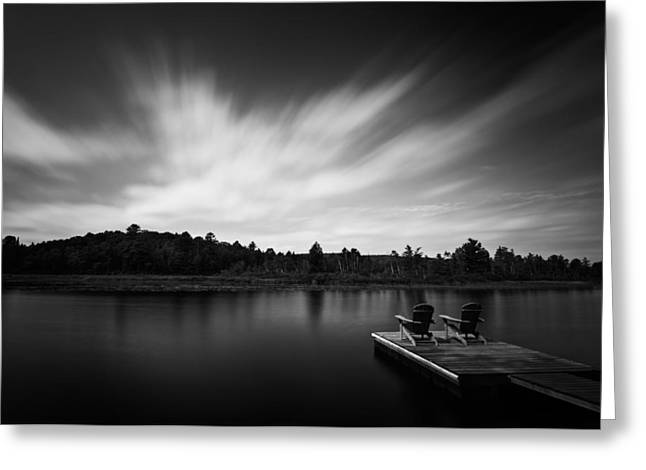 Tidal Photographs Greeting Cards - Benoir Lake Greeting Card by Alapati Gallery