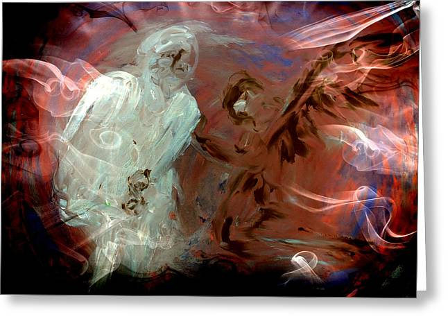Ben's Angel 10 Greeting Card by Dorothy Berry-Lound
