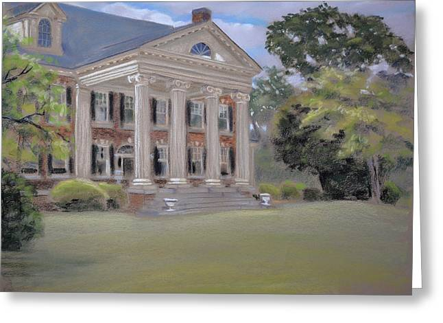 Plein Air Pastels Greeting Cards - Bentley Greeting Card by Christopher Reid
