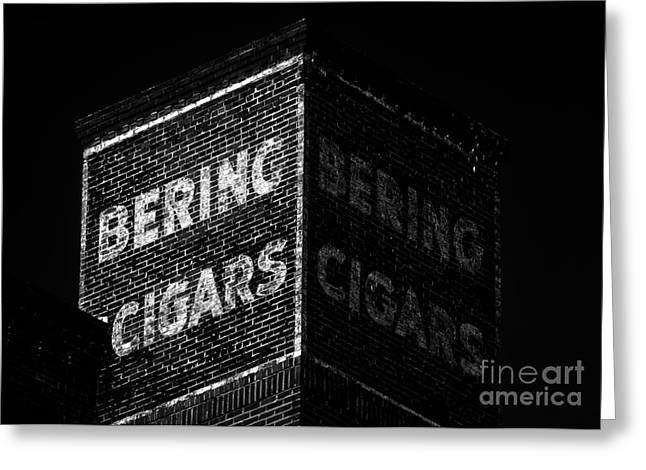 Cigar Greeting Cards - Bering Cigar Factory Greeting Card by David Lee Thompson