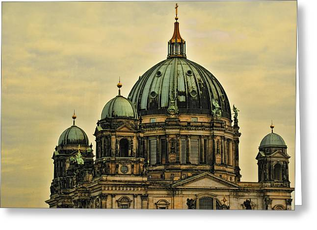 Berlin Architecture Greeting Card by Jon Berghoff