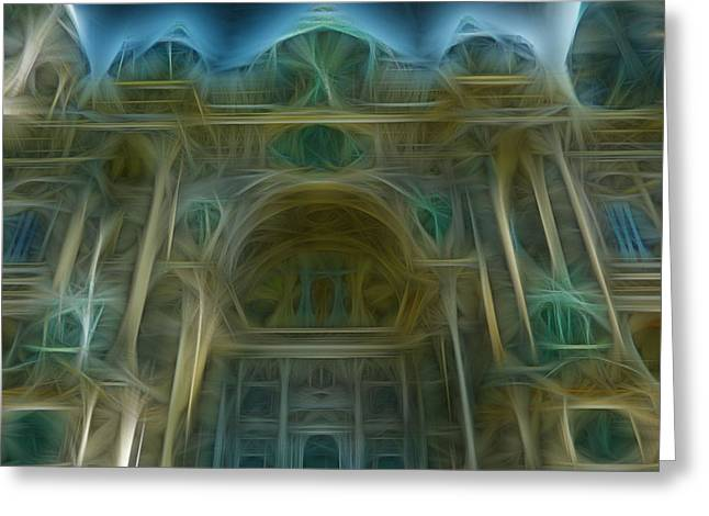 Chris Evans Greeting Cards - Berlin Cathedral Greeting Card by Chris Evans