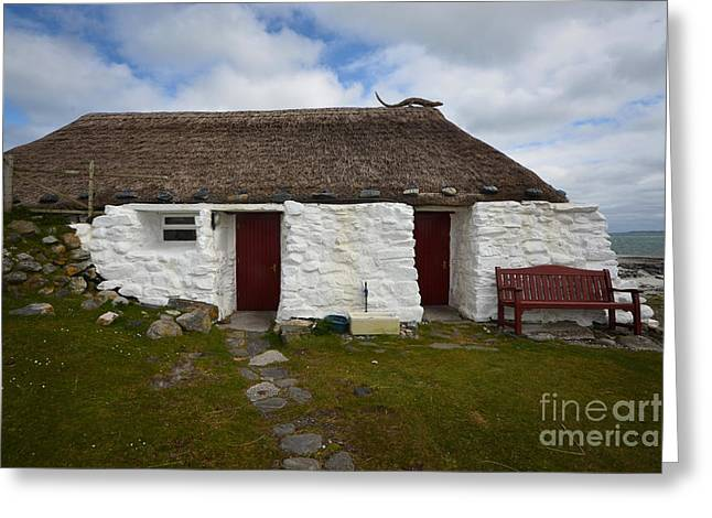 Berneray Youth Hostel Greeting Card by Stephen Smith
