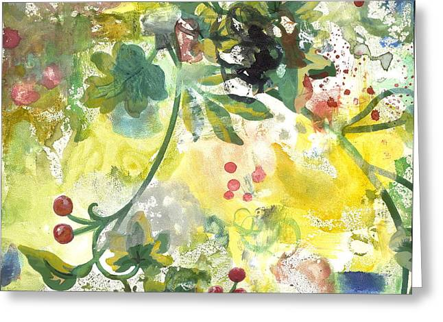 Berry Greeting Cards - Berries Greeting Card by Gloria  Von Sperling